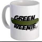 Green Weenie Mug copy