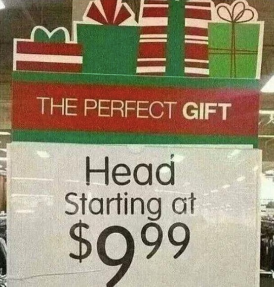 Head for Sale copy