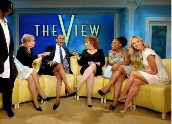 Obama on the View copy