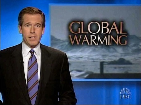 The perfect spokesman for the climate campaign.