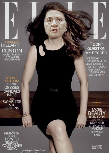 Elle Cover Hillary copy