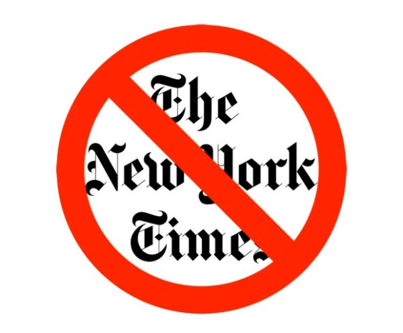 No New York Times