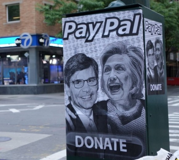 Hillary's Pay Pal copy