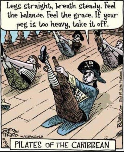 Pilates of the Caribbean copy