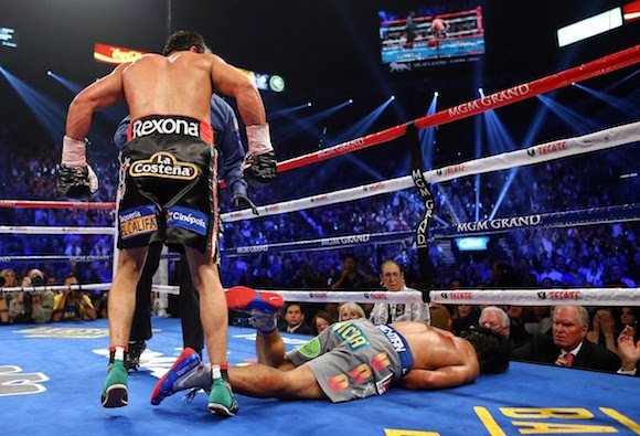 Marquez KOs Pacquiao in 2012