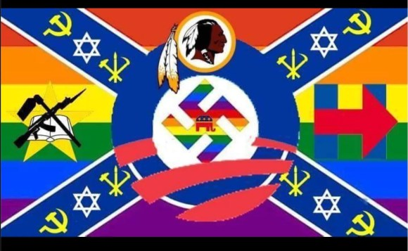 A flag to offend everyone.