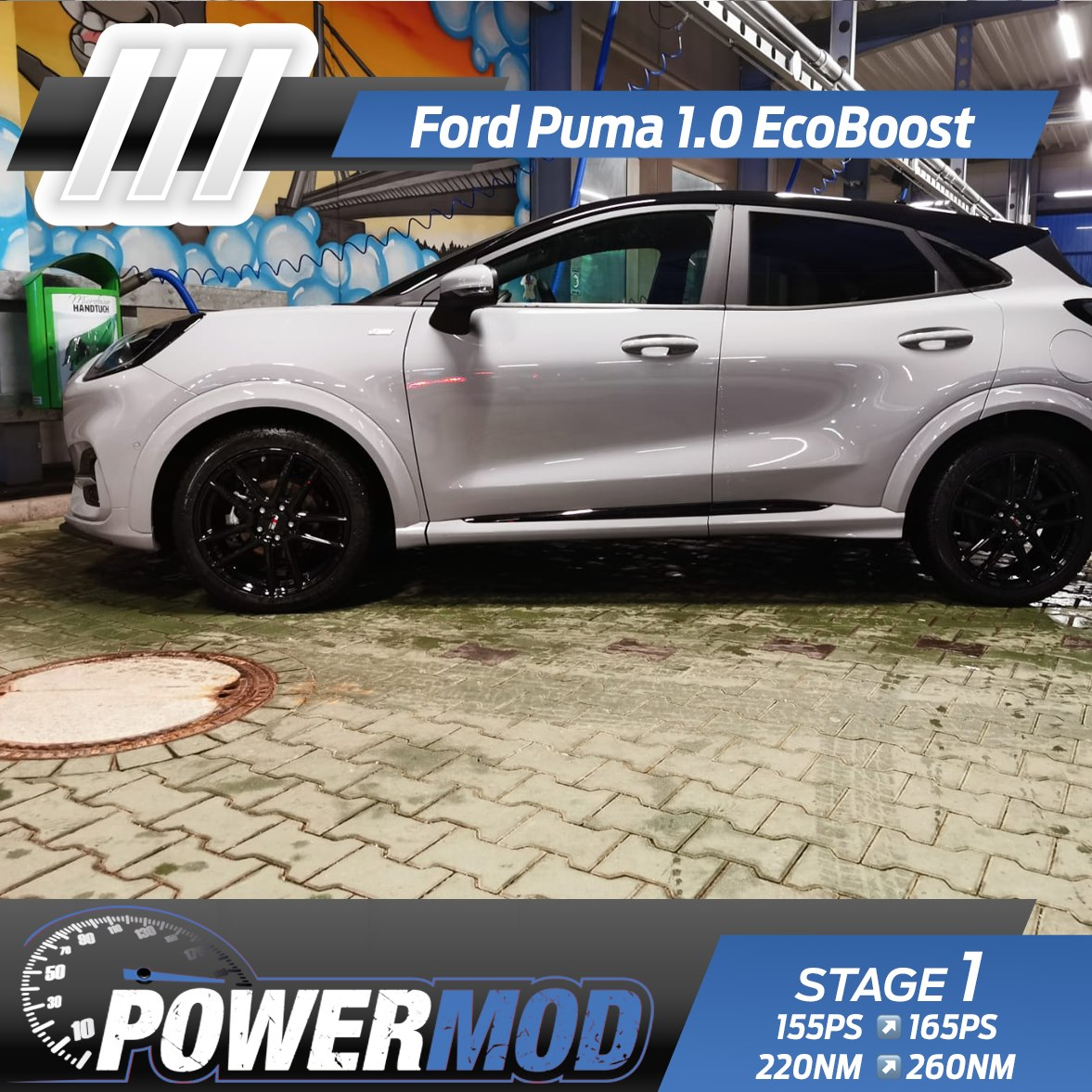 Ford Puma 1.0 EcoBoost Chiptuning