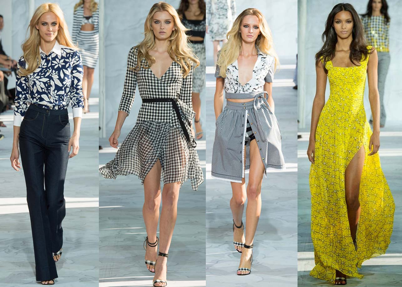 New York Fashion Week Spring Summer 2015 DVF Diane Von Furstenberg NYFW Spring Summer 2015 looks