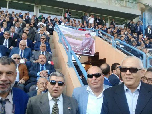 الشريف وقيادات اوسوكو فى مؤتمر دعم وتأييد الرئيس ببتروسبورت