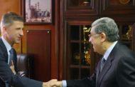 وزير الكهرباء يلتقي سفير قبرص ورئيس شركة Euro Africa لبحث تطورات مشروع الربط الكهربائي