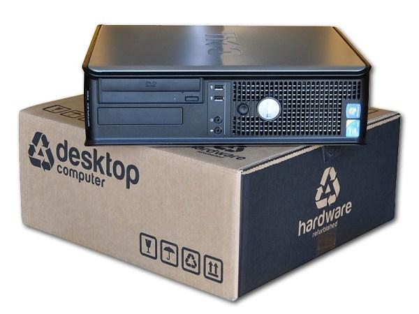 Dell Optiplex GX755 SD C2DUO – COA Windows 7