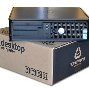 Dell Optiplex GX755 SD C2DUO – COA Windows 7