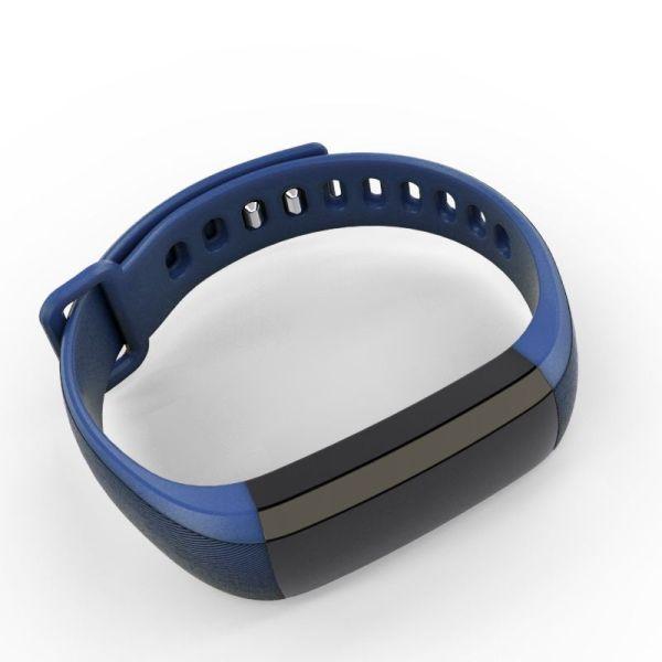 Smartband Bluetooth Pulsera Universal Leotec Oled Color Health Azul