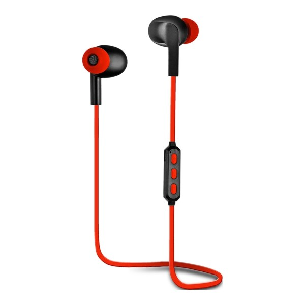 AURICULARES WOXTER AIRBEAT BT-5 ROJO BLUETOOTH
