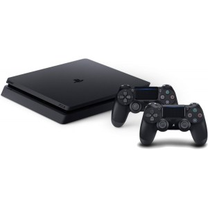 CONS. PS4 SLIM 1TB INCLUYE 2 MANDOS DUALSHOCK 4