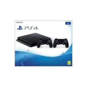 CONS. PS4 SLIM 1TB INCLUYE 2 MANDOS DUALSHOCK 4