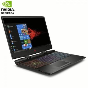 PORTATIL GAMING HP 15-DC0025NS I7-8750H 4AT35EA