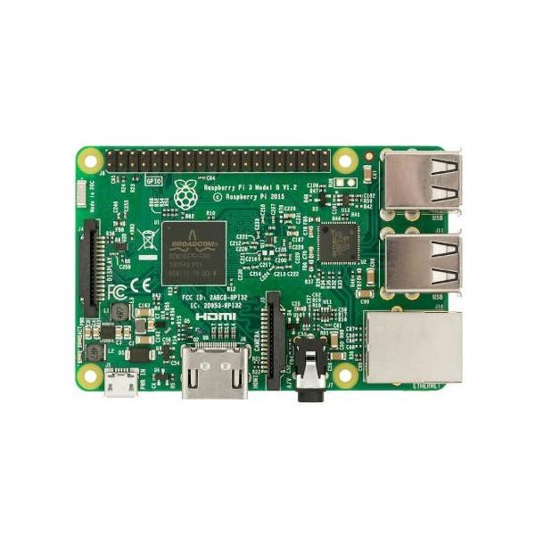 RASPBERRY PI 3 BOARD TYPE B 1GB