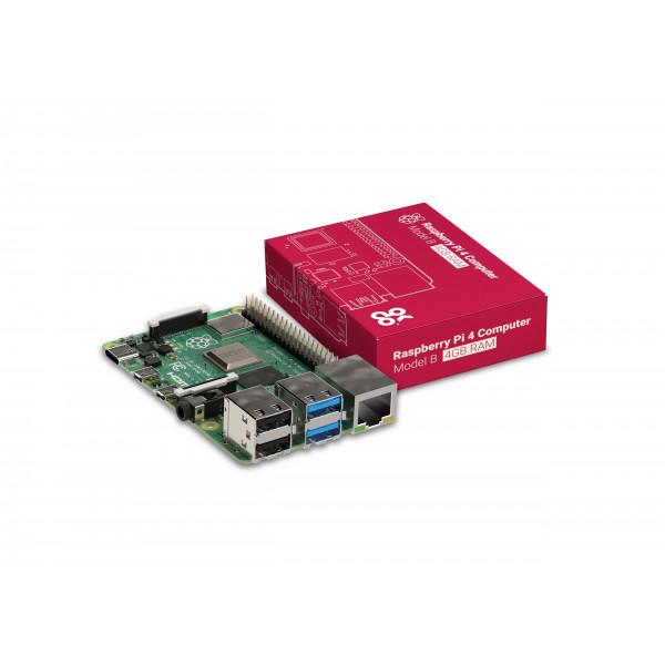 RASPBERRY PI 4 BOARD MODELO B 4GB SDRAM