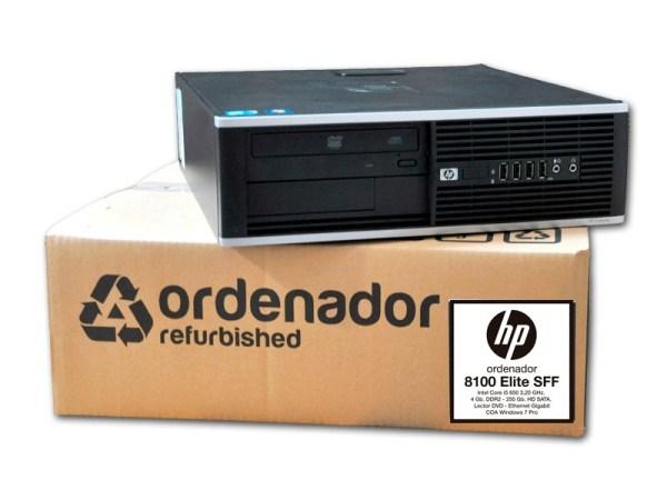 Ordenadores Intel Core i7 HP 8300 Elite SFF Ocasión