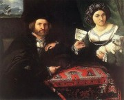 1523 Lorenzo Lotto (1480-1556) Husband and Wife