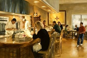 Coffee, Elaine G. (1941) EarlyDinneratthe antaFeCafe1824mw