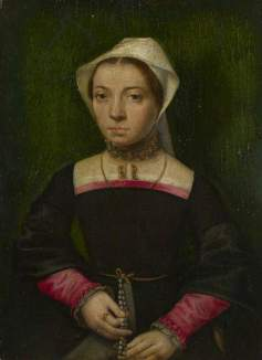 van Hemessen, Catharina; A Lady with a Rosary; The National Gallery, London; http://www.artuk.org/artworks/a-lady-with-a-rosary-114015
