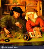 the-banker-and-his-wife-1514-by-quinten-massys-1466-1530-flemish-belgian-AAYMP0