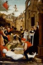 Josse_Lieferinxe_-_Saint_Sebastian_Interceding_for_the_Plague_Stricken_-_Walters_371995