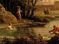Vernet_Claude_Joseph_Landscape_With_Bathers_detail
