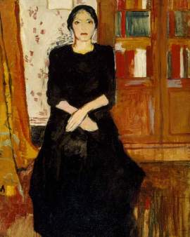 Laurencin, Marie; The Artist's Mother; The Ashmolean Museum of Art and Archaeology; http://www.artuk.org/artworks/the-artists-mother-142260