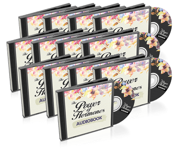 Power Of Hormones   Womens Health Offer  Image of audiobook package
