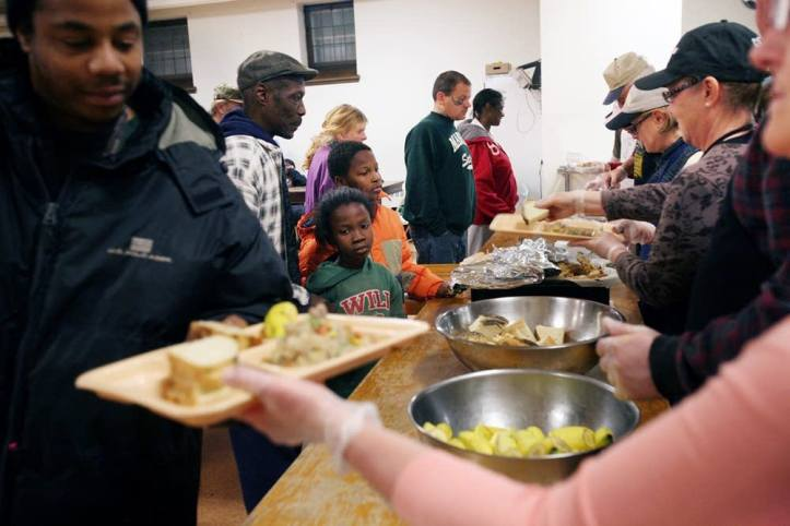 Homeless Thanksgiving