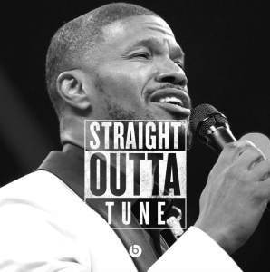 Jamie Foxx, this was NOT funny...Yes, it was.