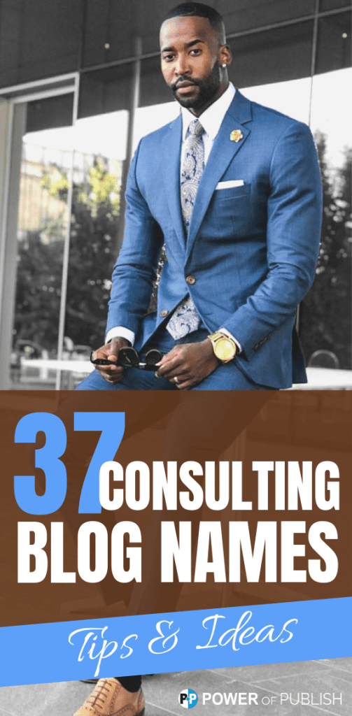 consulting blogging names