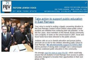 Boletín reforma voz judía