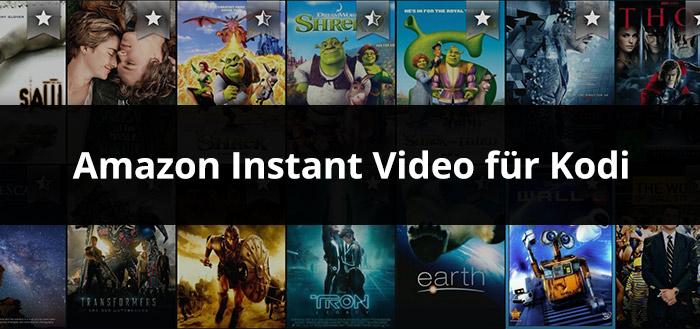 Amazon Instant Video Addon für Kodi