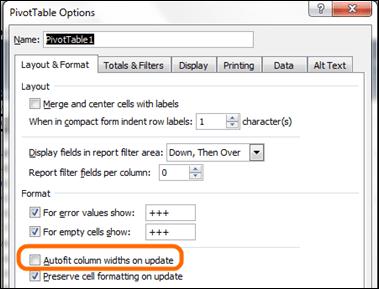 Making Pivots NOT Change Column Widths On Slicer Clicks Etc