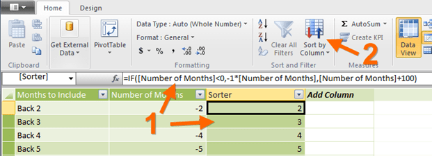 A Somewhat Clever Formula for SortBy Purposes in Power Pivot