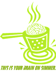 pot brain simmer
