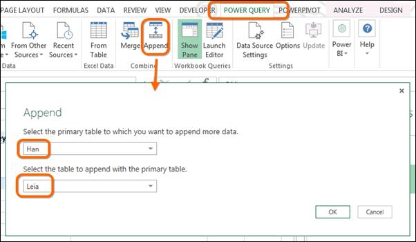 Power Query, aka Power BI Data Import