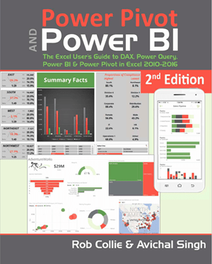 Power Pivot and Power BI - Book - by Rob Collie & Avi Singh