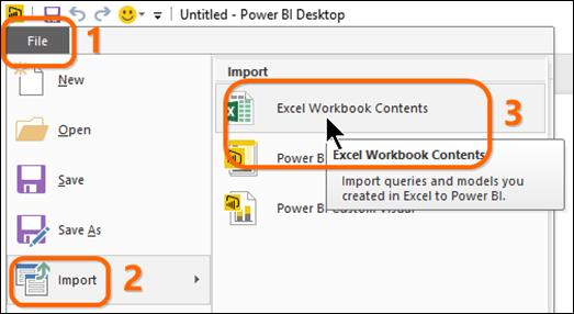 Import Your Power Pivot Workbook Into Power BI