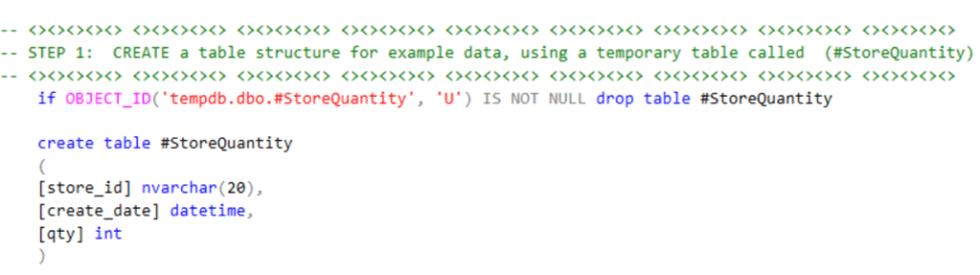 SQL Step 1