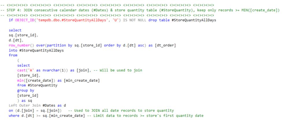 SQL Step 4