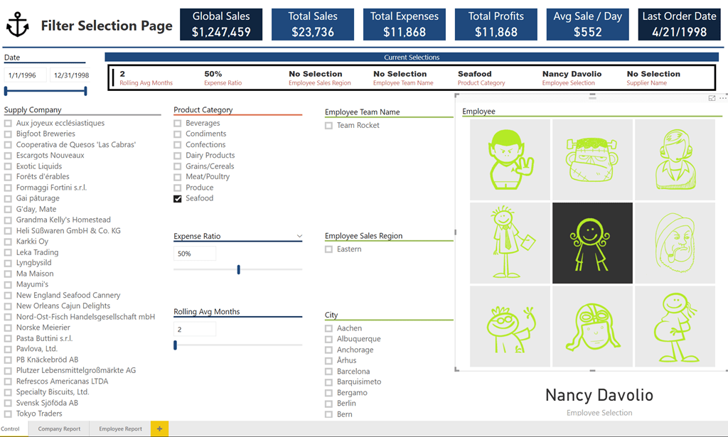 How to Connect One Slicer to All Your Power BI Report Pages