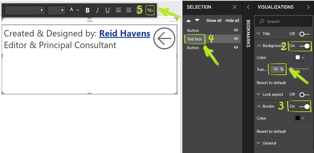 Power BI Feature Spotlight: Using Bookmark Buttons to Create Pop-Up