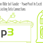 An Oldie but Goodie – PowerPivot In Excel: Existing Data Connections