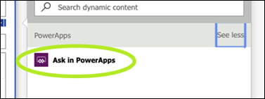 Ask in PowerApps