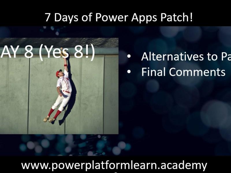 Alternatives to Power Fx Patch